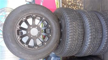 "17"" Ford Ranger mags and tyres"