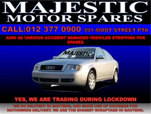 Audi A6 stripping for sued spares