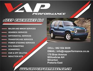 Jeep Cherokee Liberty KJ Service (Minor & Major)