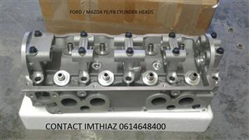 FORD / MAZDA FE/F8 CYLINDER HEADS (BRAND NEW)