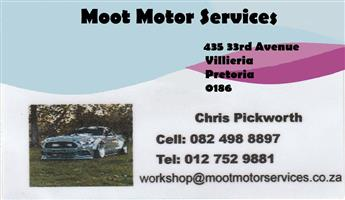 Vehicle Repairs - Moot Motor Services