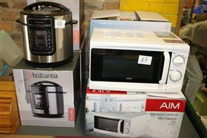 Brabantia cooker and aim microwave