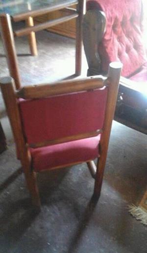 tafel met 4 stoele te koop