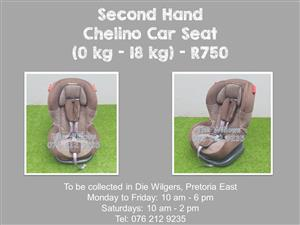 Second Hand Chelino Car Seat (0 kg - 18 kg)
