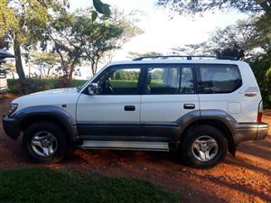 2001 Toyota Land Cruiser Prado PRADO VX 4.0 V6 A/T