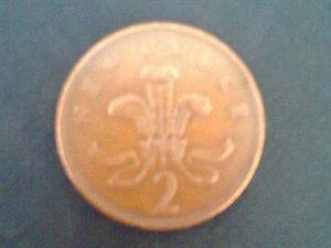 Rare Error 1971 New 2p For Sale Or Swop