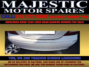Mercedes benz c200 used rear bumper for sale