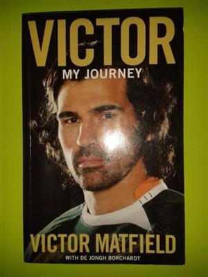 Victor My Journey - Victor Matfield with De Jongh Borchardt.