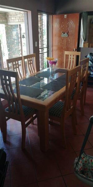 Oack diningroom set