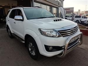 2013 Toyota Fortuner 3.0D 4D 4x4 Ltd edition auto