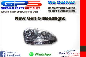 New VW Golf 5 Headlight for Sale