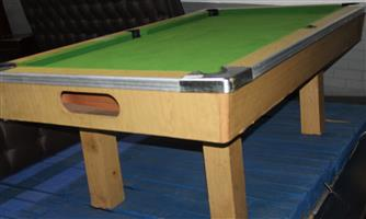 S034279A Wooden pool table #Rosettenvillepawnshop