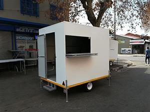 NEW Mobile food trailer with equipment