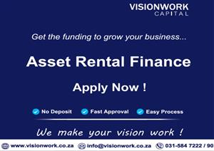 Visionwork Business Solutions. Industrial asset finance