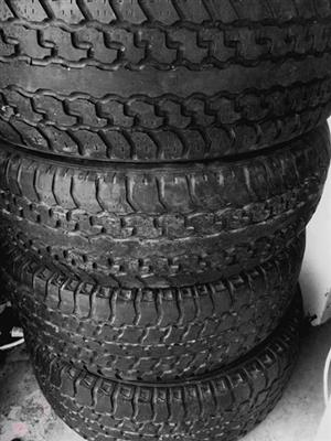 Bridgestone 245/70R16 Tyres for sale! Brand New