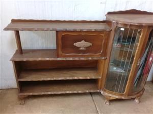 Antique Showcase cabinet