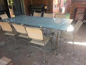Beautiful 8 seater patio set