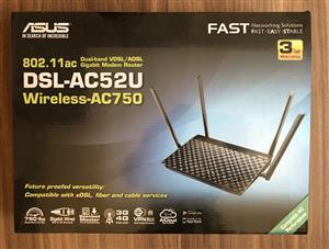 Asus xDSL Router DSL-AC52U