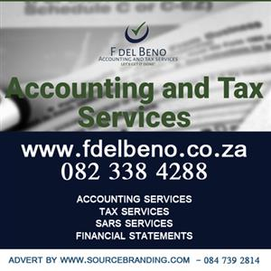 F del Beno Accounting and Tax Services We offer a full spectrum of Accounting and Taxation services.