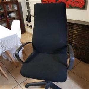 Desk, cradenza & chair
