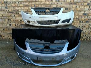 Opel Corsa D Prefacelift Front Bumper