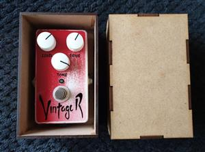 Craig Amps - Vintage R - Distortion Guitar Pedal - Custom Built
