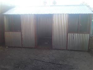 Steel houses for sale -we manufacture all types of huts for affordable prices for all prices including delivery & installation
