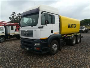 MAN  WATER  TANKER  16000 LT