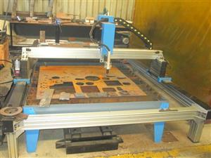 P-1325T MetalWise Standard CNC Plasma Cutting Table 1300x2500mm Stepper Motors Barebone