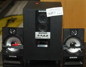 S034457A Dixon 2.1 multimedia speakers #Rosettenvillepawnshop