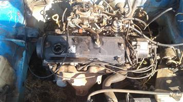 Stripping toyota tazz with 2E engine