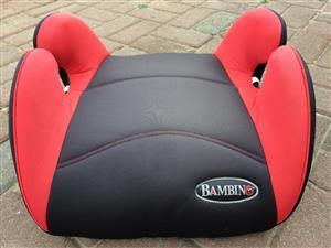 Bambino Booster Car Seat
