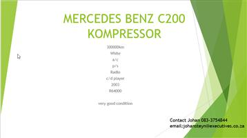 2003 Mercedes Benz C Class C200