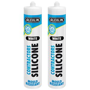CONTRACTORS SILICONE WHT 260ML