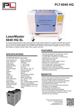 Laser cutter and engraver for sale - Excellent condition