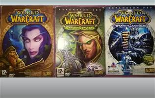 Warcraft collection for sale pretoria