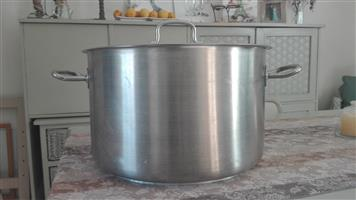 CATERING POT STAINLESS STEEL, 40L