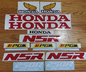 1988 NSR 250R decals stickers graphics kits