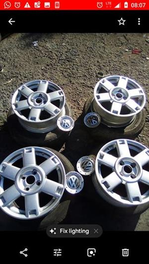 Rims and tyres 50%