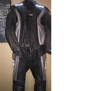Biker leather suit size 52