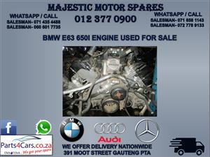 Bmw e63 650I engine for sale