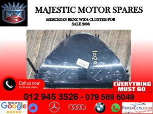 Mercedes benz W204 cluster for sale