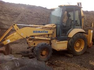 Komatsu tlbs x2 as is or breaking for spares