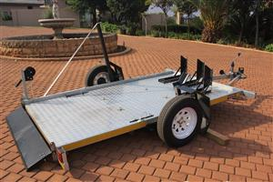 Easy loader bike trailers available