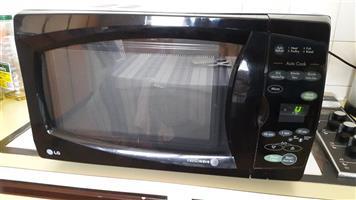 LG Intelliwave Microwave