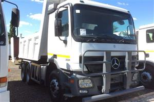 Mercedes Benz Tipper Bins Truck