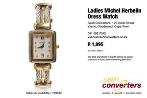 Ladies Michel Herbelin Dress Watch