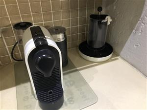 Nespresso Milk Machine & Pod Holder