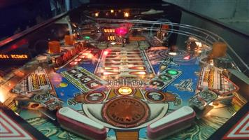 Pinball Machine - for sale Space Station