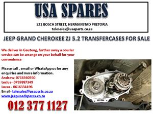 JEEP GRAND CHEROKEE ZJ 5.2 TRANSFER CASE FOR SALE. CALL NOW